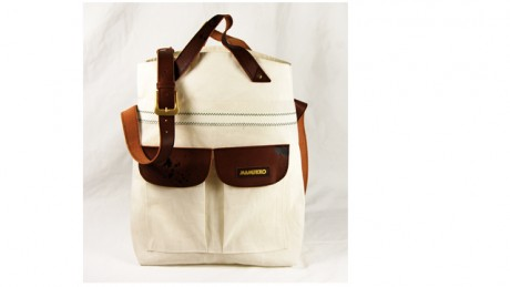Midtown sail leather bag Mamukko