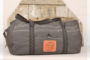 decommissioned liferaft rubber, duffle deluxe, upcycled, sustainable